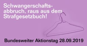 Demo: Schwangerschaftsabbruch, raus aus dem Gesetzbuch! @ Berliner Platz Gießen