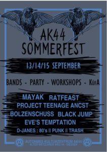 Ak44-Sommerfest 2019 @ AK44 Gießen
