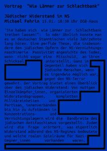 Vortrag 'Wie Lämmer zur Schlachtbank' @ DGB-Haus Marburg